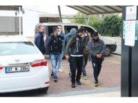 Alanya'da uyuşturucu operasyonda 3 tutuklama