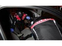 Samsun'da motosikletli Yunus polisleri asayiş uygulaması yaptı