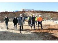 Büyükşehir, Kula'daki çevreci tesiste incelemede bulundu