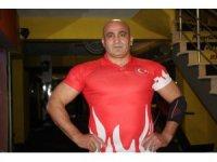 Milli sporcu Sadrettin Özbahçeci'nin hedefi yeniden şampiyonluk