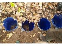 Bingöl'de teröristlerin kullandığı sığınak ve malzemeler imha edildi