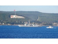 Mısır savaş gemileri Çanakkale Boğazı'ndan geçti