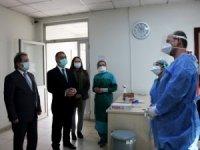 Çalışan Sağlığı Dairesi Başkanı Selami Duman'dan Kayseri'ye pandemi ziyareti