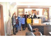 Besni Belediyesi'nden öğrencilere bilgisayar desteği