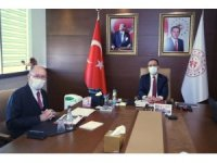 Rektör Erdal, Gençlik ve Spor Bakanını ziyaret etti