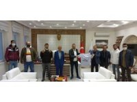 Başkan Kazgan'a Yeni Malatyaspor taraftarlarından ziyaret