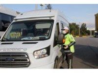 Fethiye'de toplu taşıma araçlarına Korona virüs denetimi