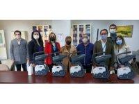 Söke Ak Parti'den, Devlet Hastanesi'ne dezenfektan makinesi