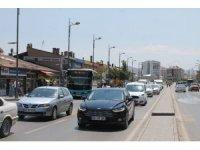 Sivas'ta araç sayısı 165 bine yaklaştı