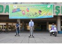 Yenişehir Belediyesinin yeşil kuşak ve bisiklet yollarına ödül