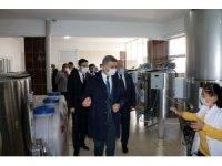 Vali Baruş'tan Hekimhan'a ziyaret