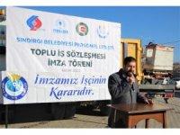 Sındırgı Belediyesi personeline toplu sözleşme müjdesi