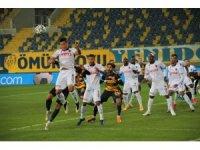 Süper Lig: MKE Ankaragücü: 0 - Trabzonspor: 1 (İlk yarı)