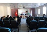 Vali Masatlı'dan sağlık yöneticileriyle korona virüs toplantısı