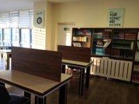 Kütüphane pandemi nedeniyle yeni düzenleme yapıldı