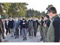 Bakan Pakdemirli Mersin'de incelemelerde bulundu