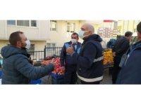 İlkadım'da pazarlara sıkı denetim: 3 pazarcıya ceza