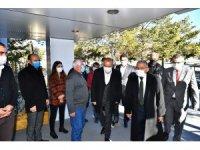 Başkan Büyükkılıç Pınarbaşı ve Sarız'da yatırımları yerinde inceledi