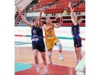 Türkiye Kadınlar Basketbol Ligi: Kayseri Basketbol: 107 - Canik Belediyesi: 54