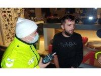 Alkollü sürücü kısıtlamada kontrolden kaçtı kıskıvrak yakalandı