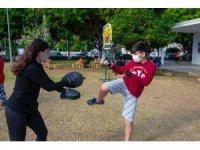 Mersin'de çocuklara mahremiyet ve kişisel savunma eğitimi