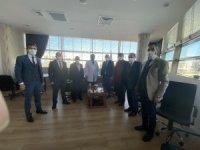 MHP'den Şehir Hastanesine ziyaret