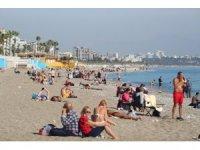Antalya'da kıskandıran yaz manzarası