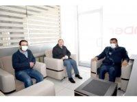 Gürkan, öğrenci yurdunu ziyaret etti