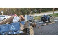 Otomobil patpata çarptı: 2 yaralı