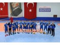 TVF Erkekler Voleybol 1. Ligi: Kocaeli Büyükşehir Belediyesi Kağıtspor: 3 - Halkbank: 0