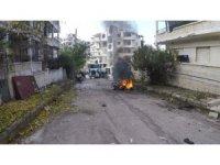 İdlib'de bomba yüklü motosiklet patladı: 1 ölü, 2 yaralı