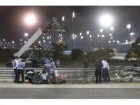 Bahreyn Formula 1 Grand Prix'sinde korkutan kaza