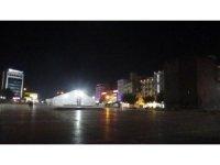 Kısıtlamanın ikinci haftasının 2'nci gününde Diyarbakır'da sokaklar boş kaldı