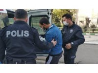 Para vermeyen şahsın aracına zarar veren genç tutuklandı