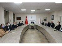 Çandıroğlu il Müdürlüğü'ndeki idarecilerle toplantı yaptı