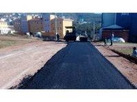 Hereke'de asfalt serimi çalışmaları sürüyor