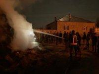 Özalp ilçesinde bin bağ ot yandı