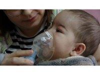 4 yıl sonra tüp bebekle çocuk sahibi olan çiftin çocuğu SMA tip 1 hastalığına yakalandı