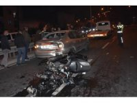 İzmir'de motosikletli sürücü kazada hayatını kaybetti