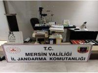 Mersin'de jandarmadan kaçak işletilen polikliniğe baskın