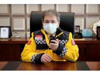 Benli, 112 Personeli' nin 1-7 Aralık Acil Sağlık Hizmetleri Haftası' nı Telsiz Anonsu İle Kutladı