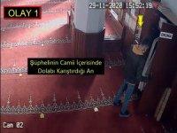 Camiden avize çalan hırsızlar yakalandı