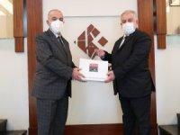 TÜBA Başkanı Prof. Dr. Muzaffer Şener'den HKÜ'ye önemli ziyaret