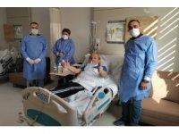 Hastanede korona virüs tedavisi gören belediye başkanından çağrı