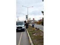 Maden Şehitleri Caddesi ağaçlandırılıyor