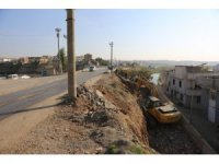 Cizre'de sokak sağlıklaştırma çalışmaları sürüyor