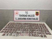 Ticari takside uyuşturucu hap ele geçirildi