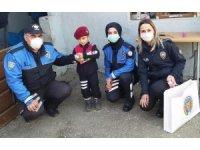 Polislerden en anlamlı ziyaret
