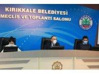 Kırıkkale Belediyesi Aralık ayı meclis toplantısı gerçekleştirildi