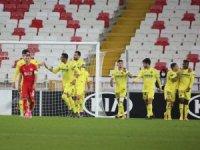UEFA Avrupa Ligi: Sivasspor: 0 - Villarreal: 1 (Maç sonucu)
